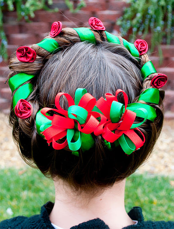 Christmas Wreath Braid