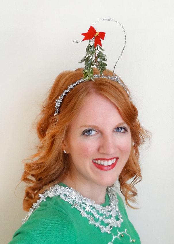 Mistletoe Headband