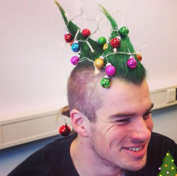 Christmas Tree Mohawk