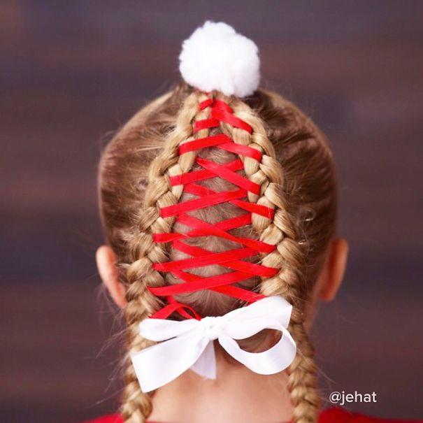 Santa's Hat Braid