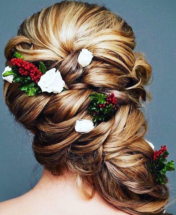 Elegant Christmas Hairstyle