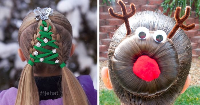 62 Of The Most Creative Christmas Hairstyles Ever