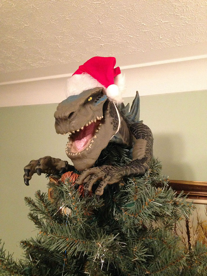 Christmas Definitely Needs More Godzilla