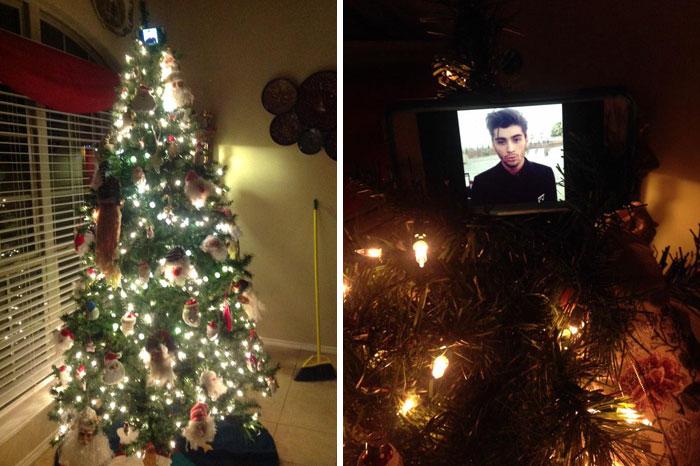 Zayn Is Our Tree Topper