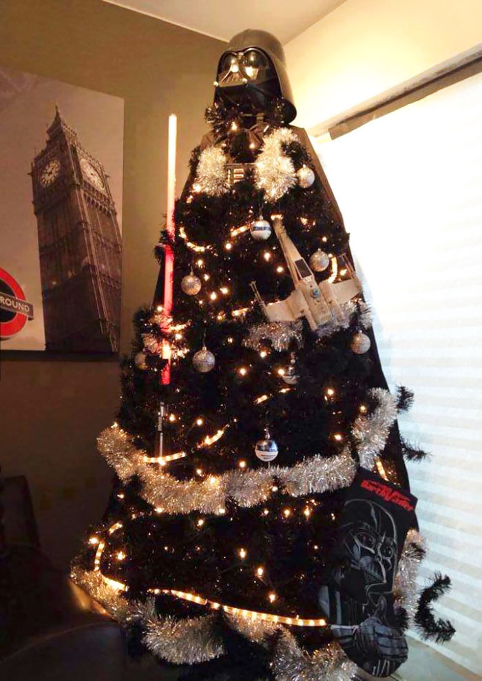 Dath Vader Christmas Tree Topper