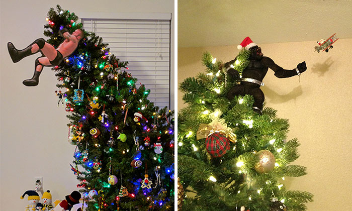 34 Of The Most Creative Christmas Tree Toppers Ever
