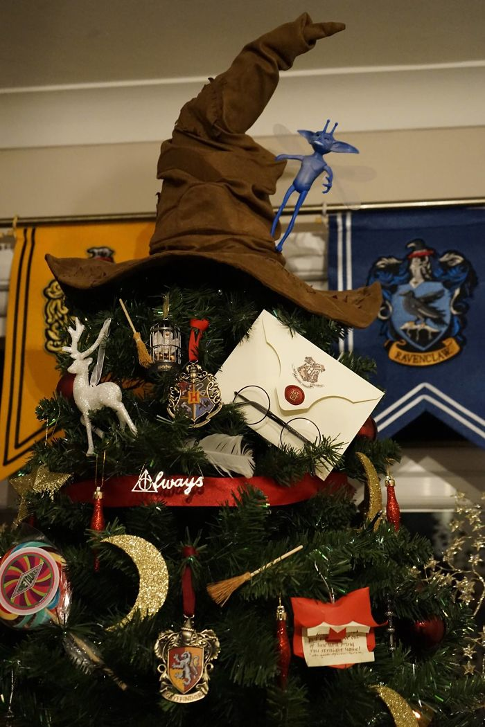 Harry Potter Themed Christmas Tree Topper