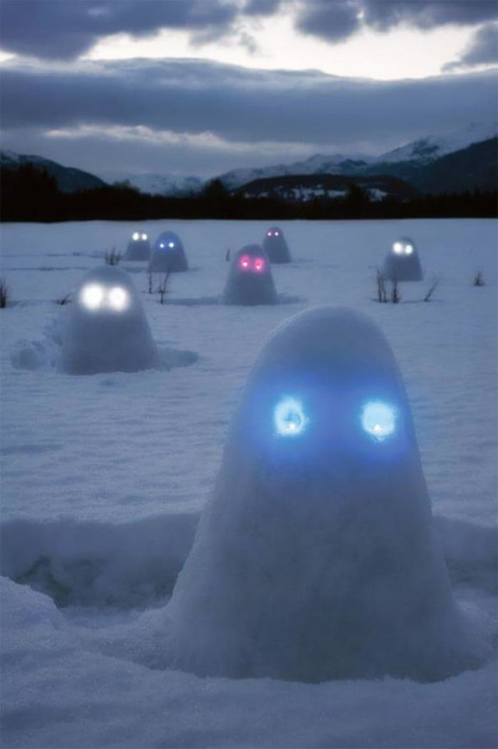 Creative Snowmen