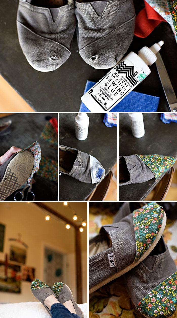 DIY Custom Repaired Toms