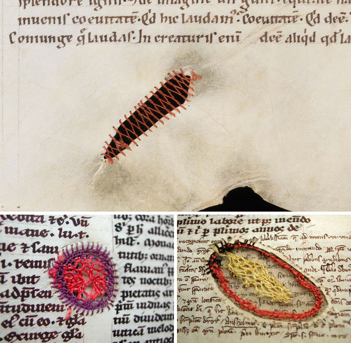 Creative Parchment Repair In Medieval Books