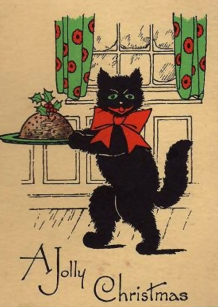 57 Victorian Christmas Cards That Are As Creepy As Those Times ...