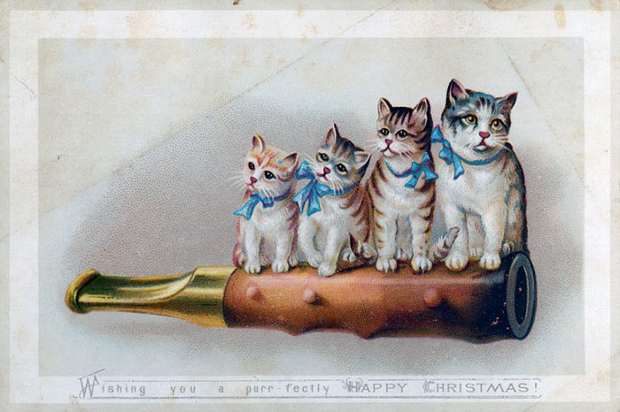 Wishing You A Purr-Fectly Happy Christmas