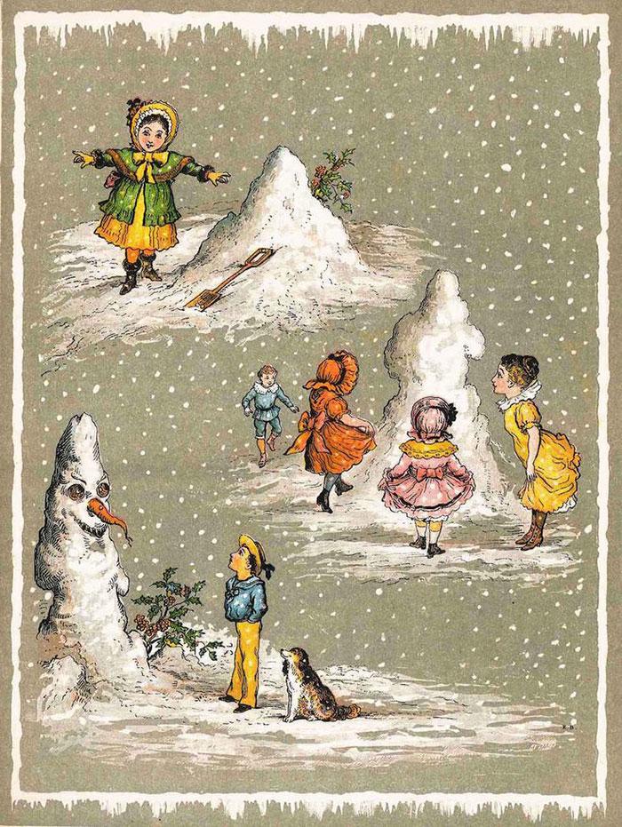 A Victorian Snowman