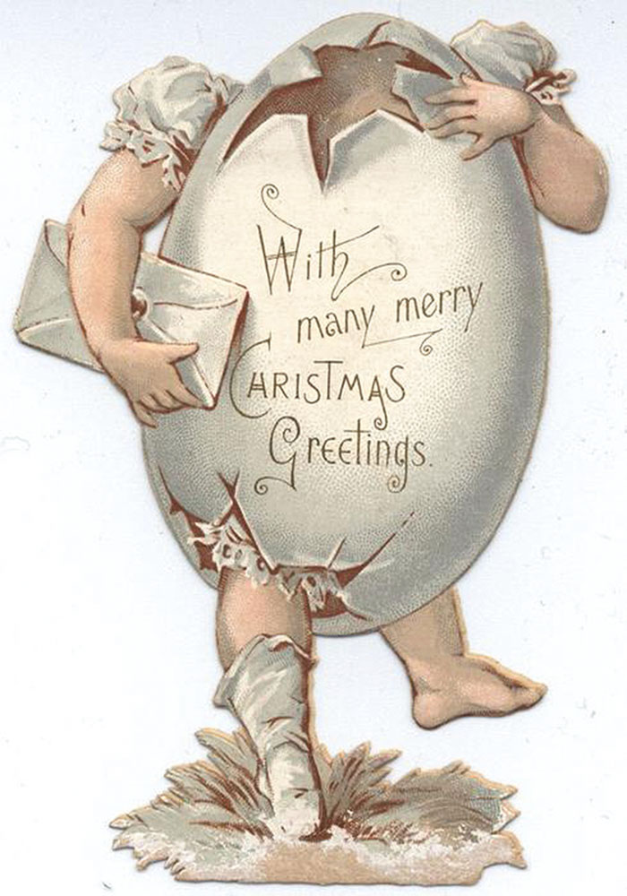 With Many Merry Christmas Greeting