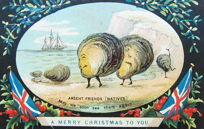 Absent Friends [natives], May We Soon See Them Again! A Merry Christmas To You
