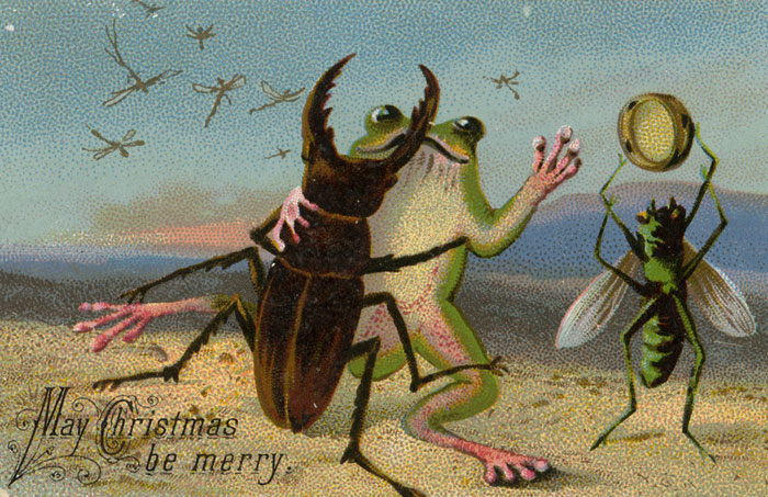 10+ Victorian Christmas Cards That Are As Creepy As Those Times Themselves