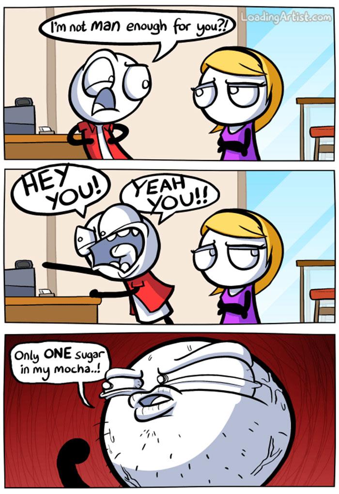 dark humor cartoons