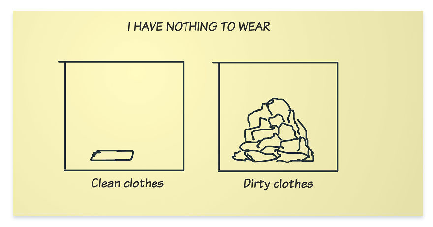 Reasons For: I Have Nothing To Wear