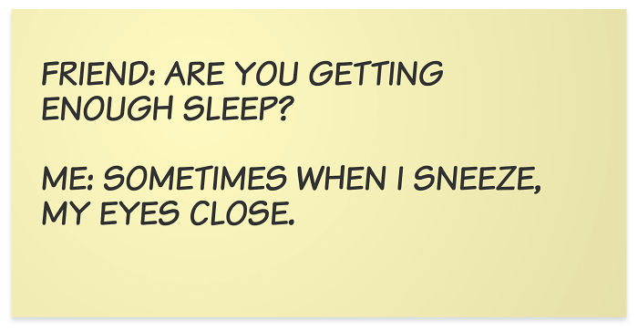 Sleeping During An Accelerator Program Is Like