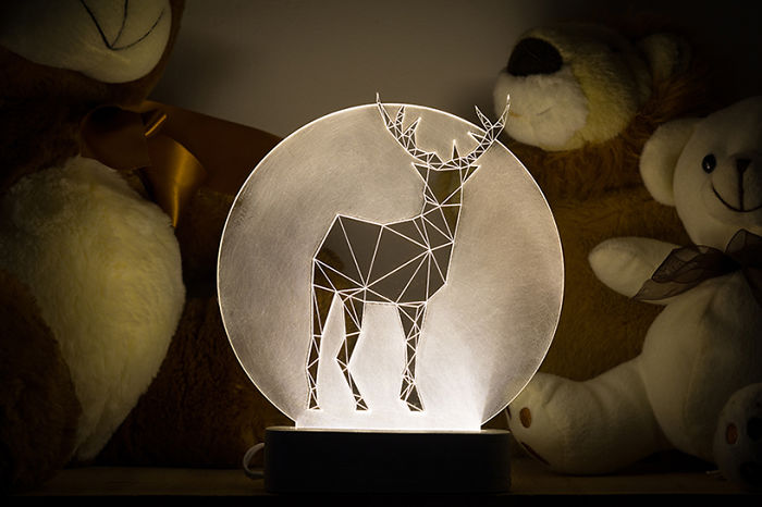 Deer Lamp, Full Moon Collection