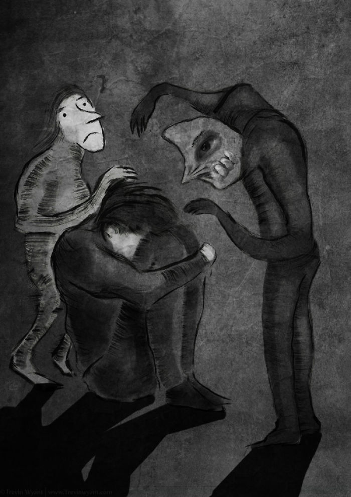 137 Artists Try To Show What Depression Looks Like And ...