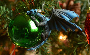 Dragons Protecting Baubles Like Their Own Eggs Is What Your Christmas Tree Needs This Year