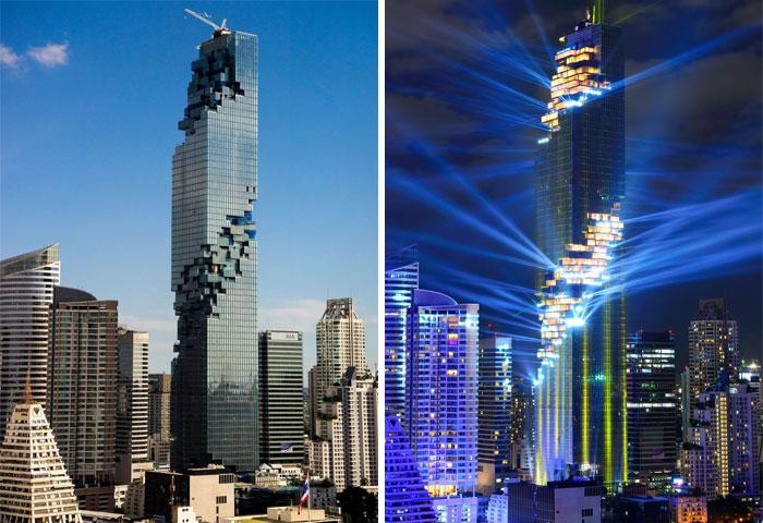 Mahanakhon Tower, Bangkok, Thailand