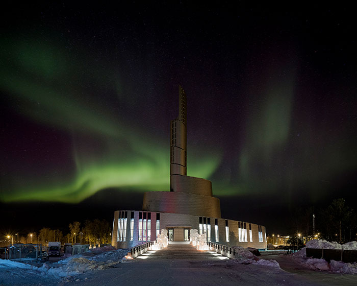 Cathedral Of The Northern Lights, Alta, Norway