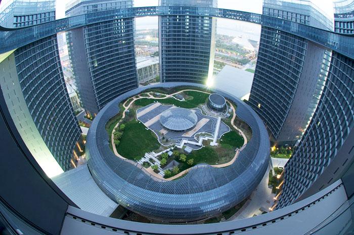 Hangzhou Congress Center, China