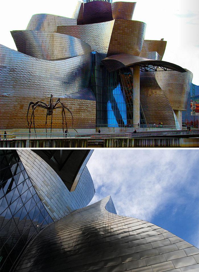 The Guggenheim Museum, Bilbao, Basque Country, Spain