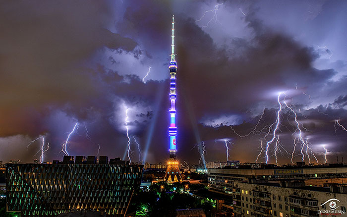 Ostankino Broadcast Tower, Moscow, Russia