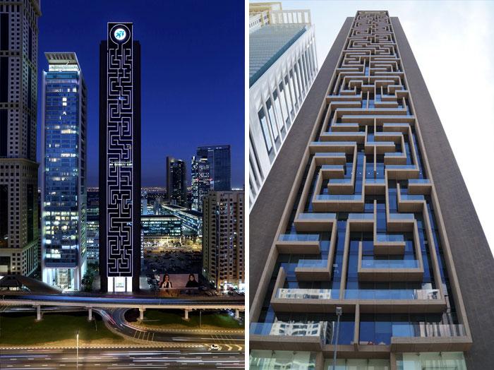 The Maze Tower, Dubai, UAE