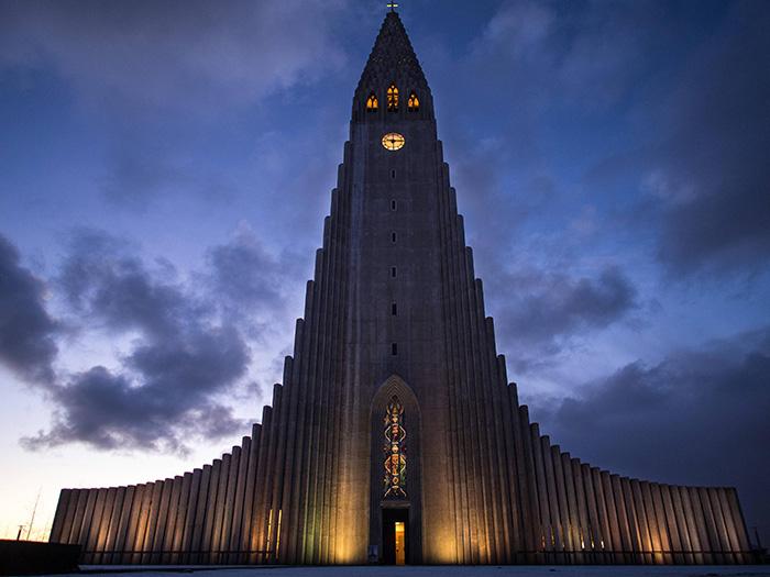 Hallgrímskirkja, Reykjavík, Iceland