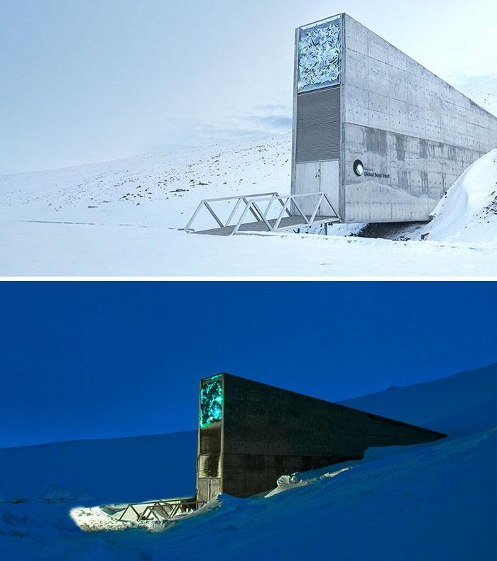 Svalbard Global Seed Vault (Seed Bank), Spitsbergen, Norway