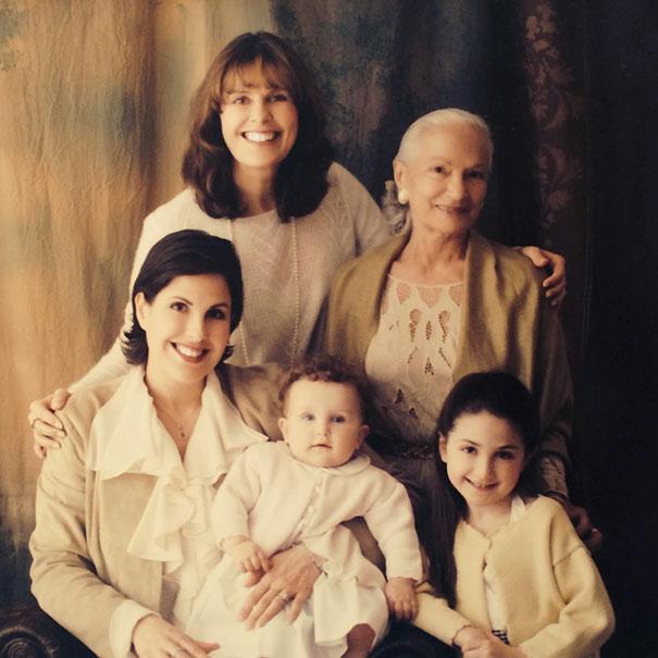 4 Generations Of Italian Women