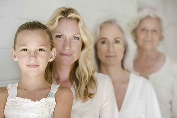 Four Generations Of Blondes