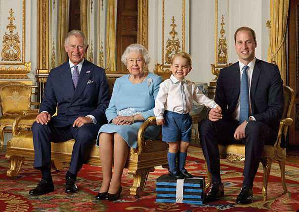 Four Generations Of The Royal Family