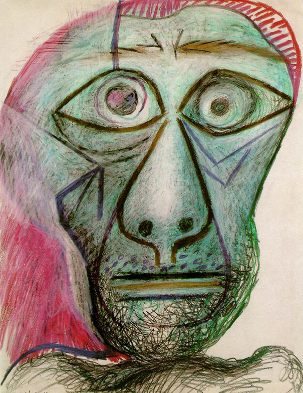 Pablo Picasso's Last Self-Portrait (1972)