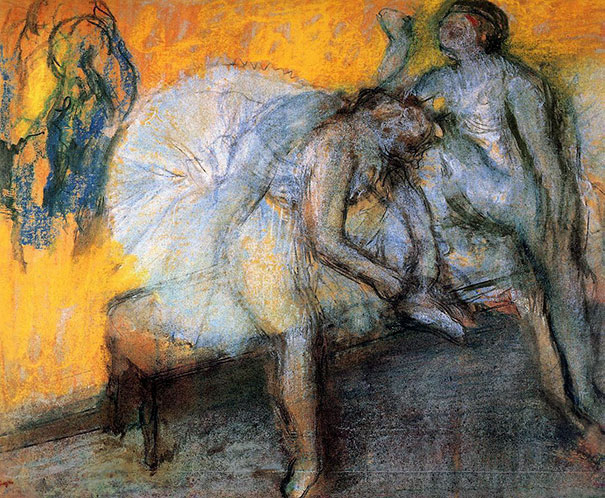 Edgar Degas: Two Dancers Resting I