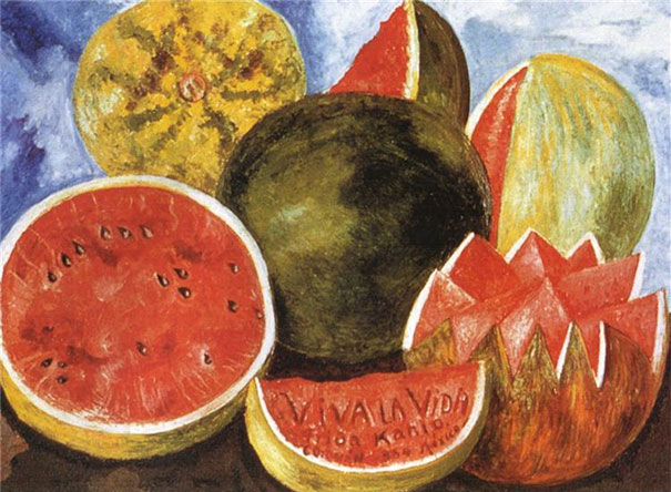 Frida Kahlo: Viva La Vida,  Watermelons (1954)