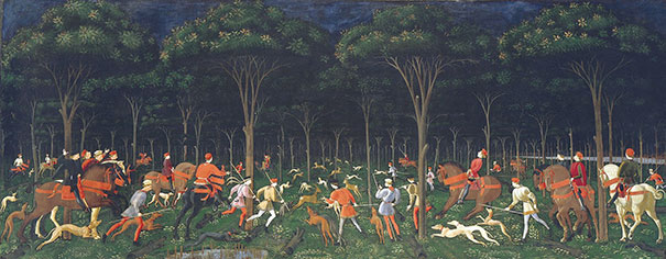 Paolo Uccello: Hunt In The Forest (1470)