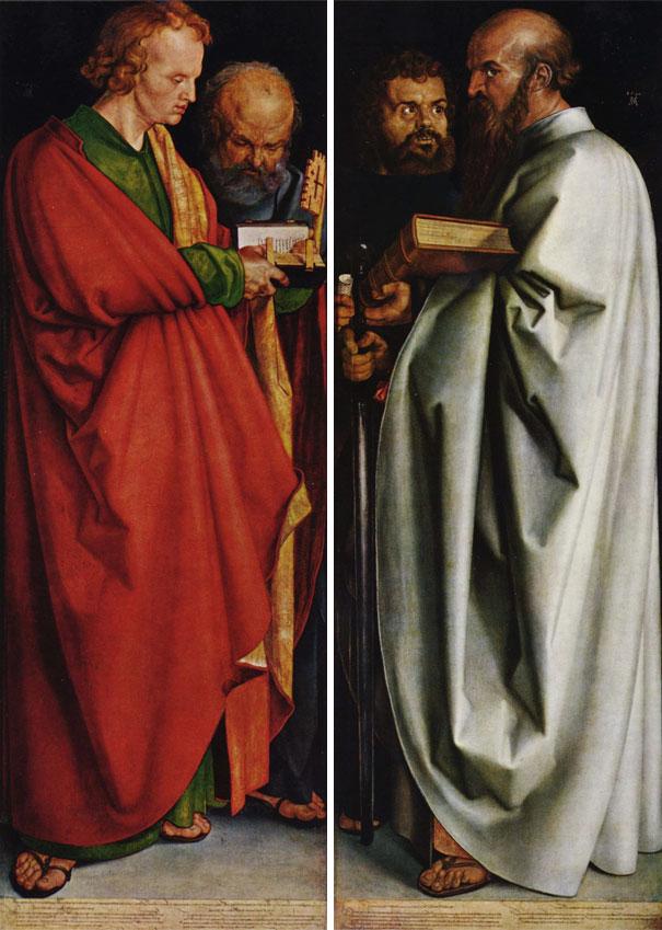 Albrecht Dürer: The Four Apostles (1526)