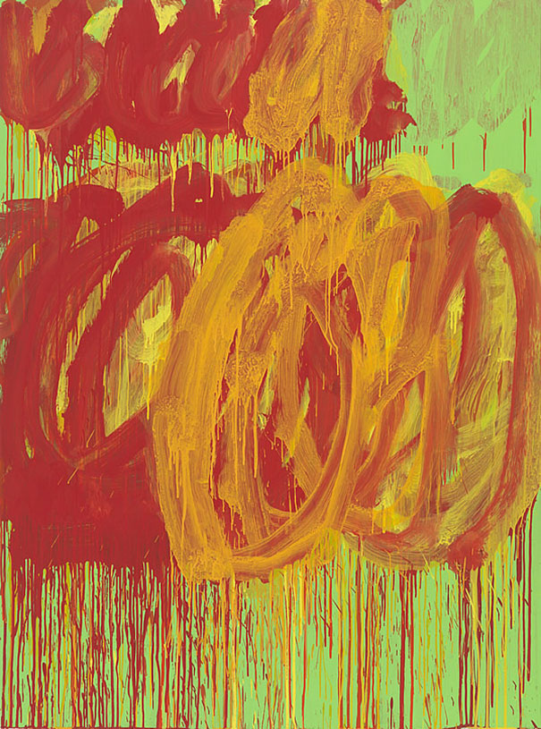 Cy Twombly: Untitled (2011)