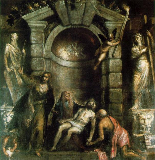Titian: Pieta (1576)