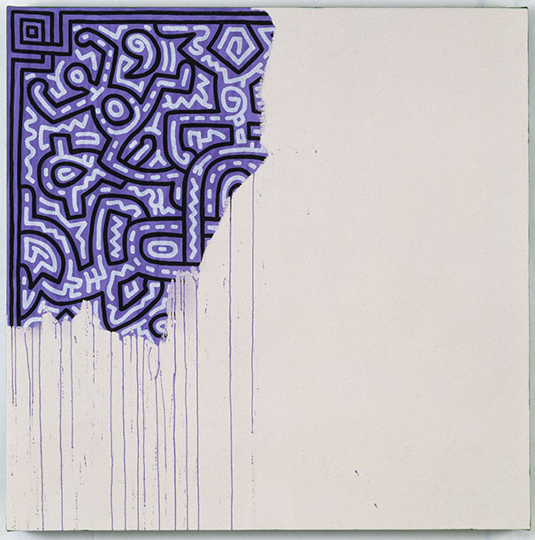 Keith Haring: Unfinished Painting (1990)