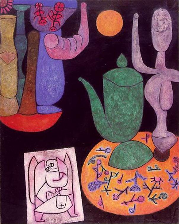 Paul Klee's Untitled Painting (1940)