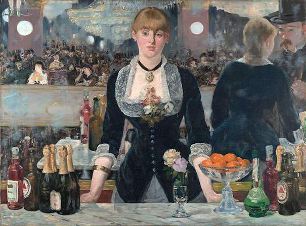Edouard Manet: A Bar At The Folies-Bergère (1882)