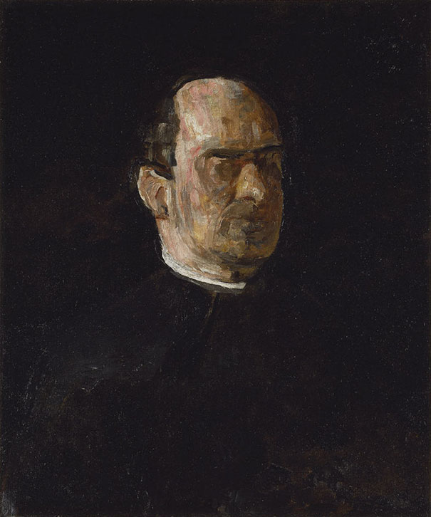 Thomas Eakins: Portrait Of Dr. Edward Anthony Spitzka (1913)