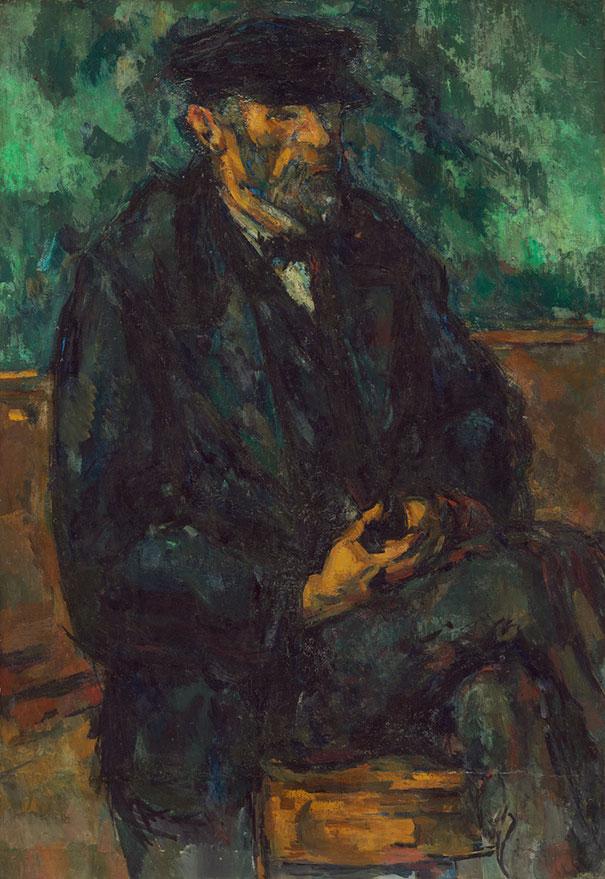 Paul Cézanne: The Gardener Vallier (1906)