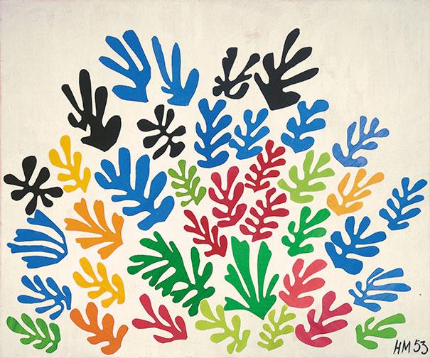 Henri Matisse: La Gerbe, One Of His Last Works (1953)